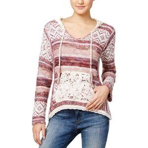 American Rag CIE Women's Sweater Zinfandel Combo